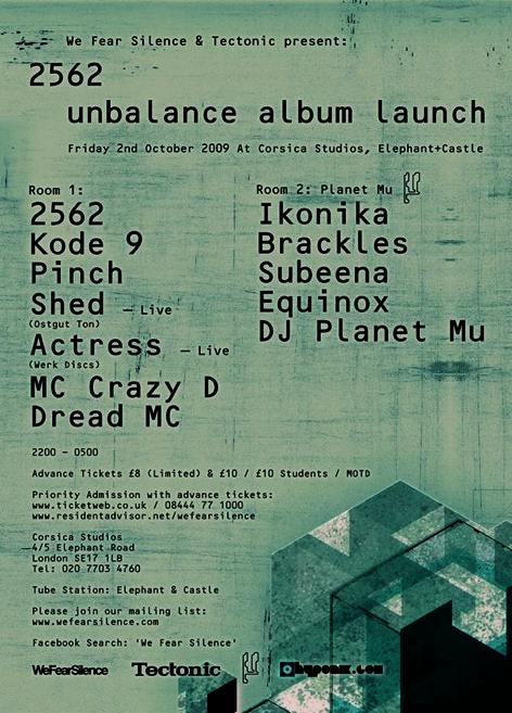 Unbalance launch party